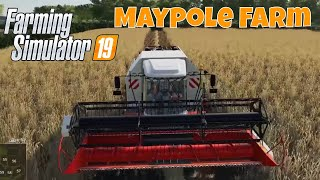 Farming SImulator 19 | Maypole Farm | Episode 2 | First Harvest
