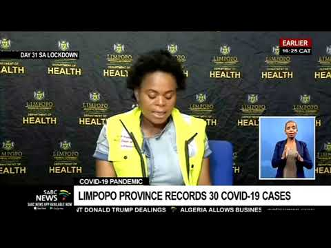 Limpopo COVID-19 cases in numbers: MEC Phophi Ramathuba