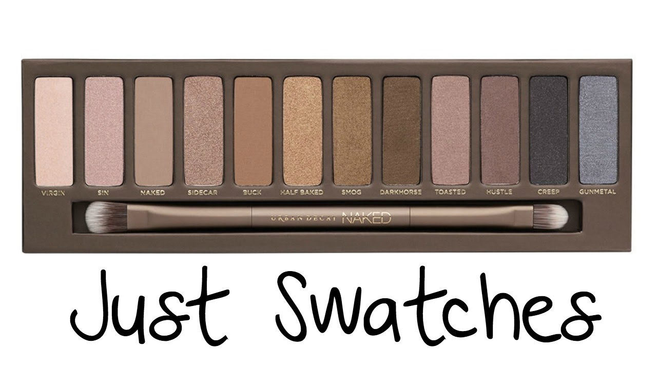 Urban decay naked palette swatches images 65