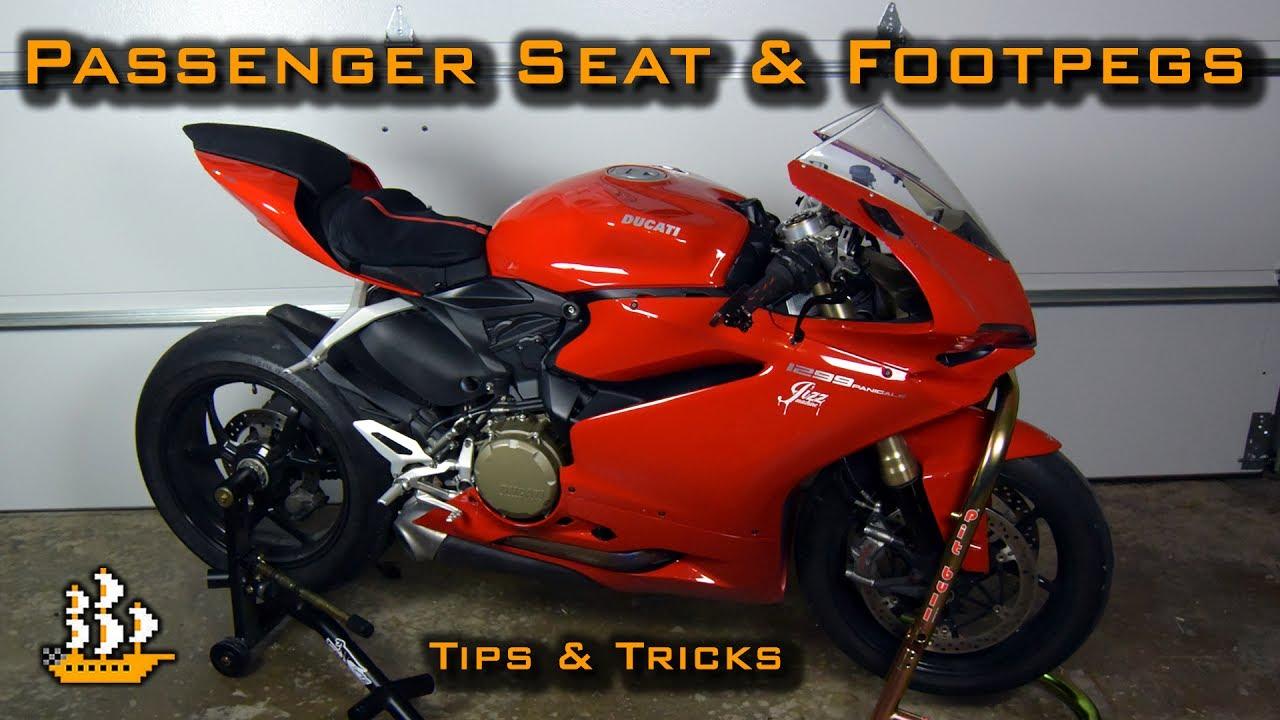 Ducati Panigale Passenger Seat