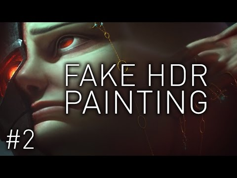 LIGHT PALETTE AND HDR PAINTING - Part 2 - Tutorial