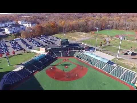 Ripken Baseball Facility Aberdeen Maryland Aerial Drone View UAV