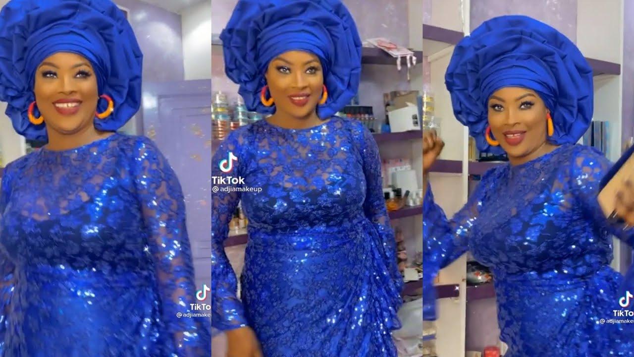 Download Ndeye Gueye dans son look à la nigériane expl0se la soirée de Papichou Guewel Vip