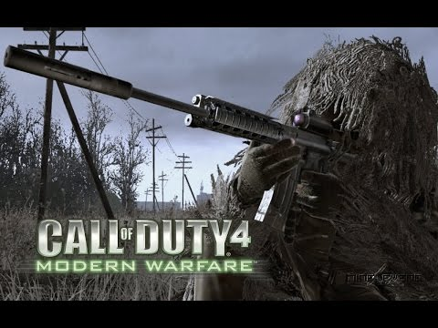 CALL OF DUTY 4 - Film Walkthroug Complet En Français HD 1080P 60FPS