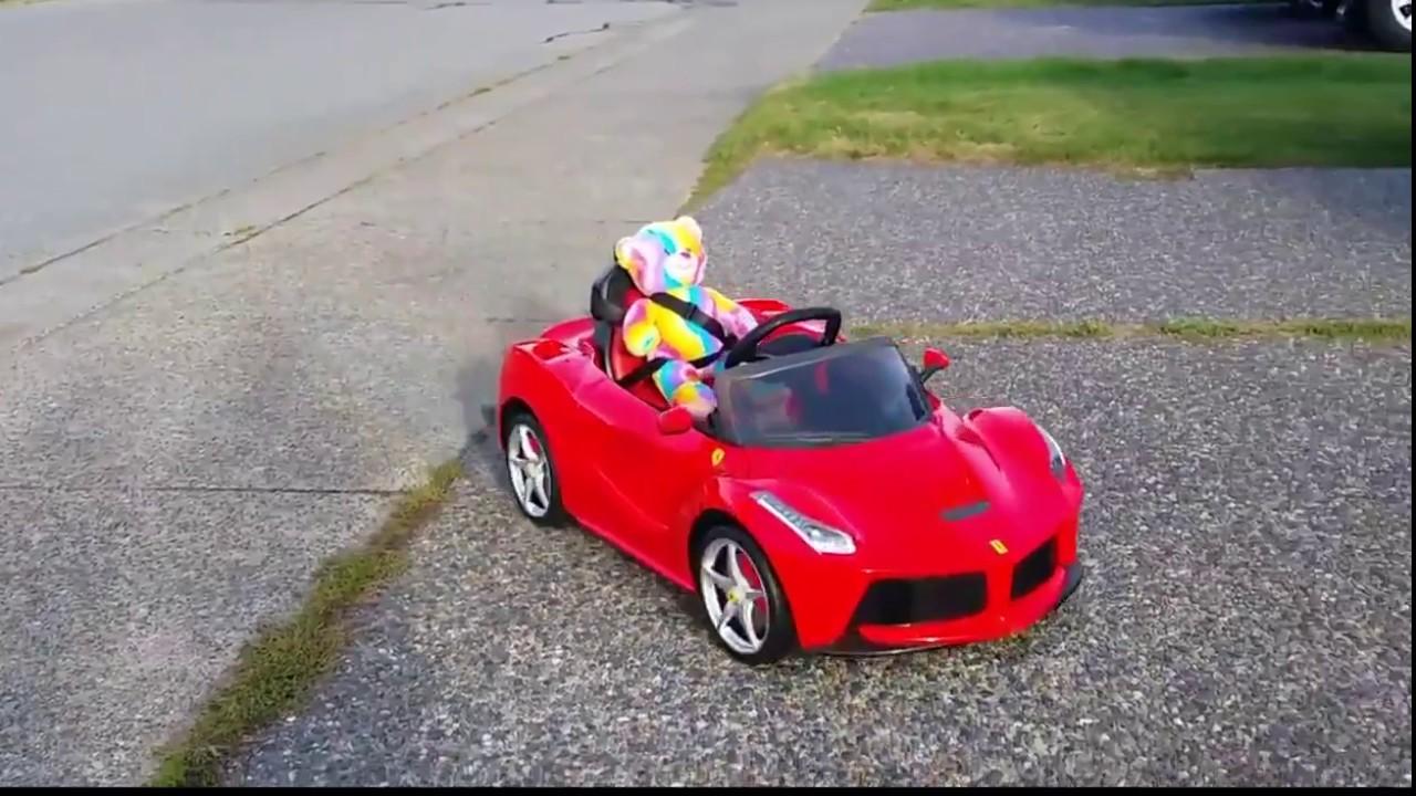 Rastar La Ferrari Ride On Kids Car Youtube