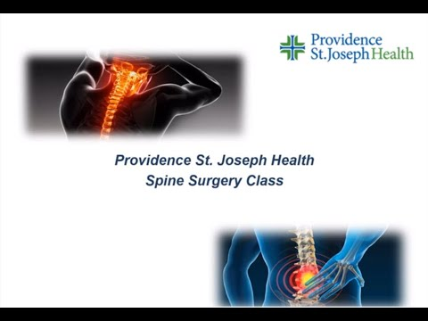 Providence St. Joseph Health | Spine Surgery Class
