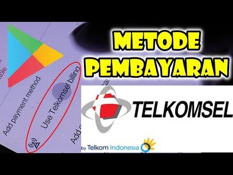 Cara Menambahkan Metode Pembayaran Telkomsel
