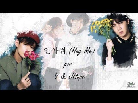 V & J-Hope (BTS) - 안아줘 (Hug Me) Lyrics [Han/Rom/Ing/Esp sub]