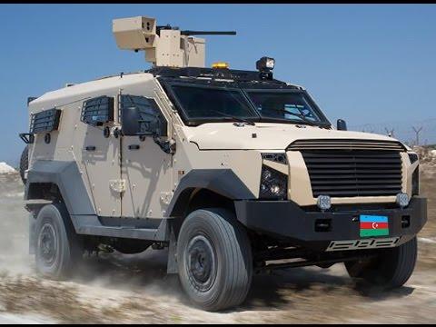 Plasan Sand Cat Azerbaijan (armored 4X4)