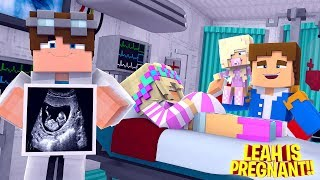 LITTLE LEAH IS PREGNANT AGAIN - IS IT A BABY GIRL OR BOY?? Minecraft