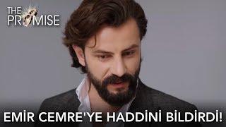 Emir Cemre'ye haddini bildirdi!   Yemin 59. Bölüm (English and Spanish)
