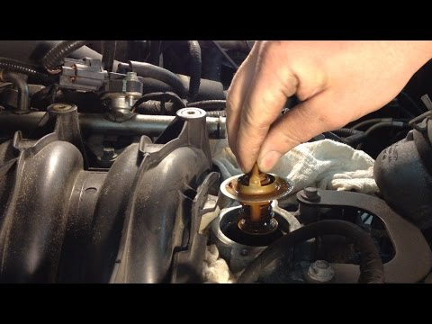 Ford 5.4L 3v Engine Overheat P1285: Thermostat Replacement