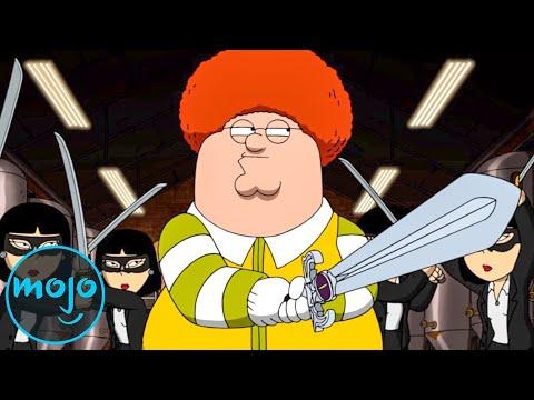 Top 10 Weirdest Family Guy Episodes Ever