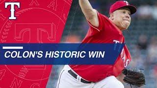 Colon records historic 246th win