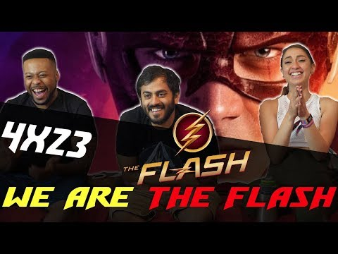 The Flash - 4x23 We Are The Flash - Group Reaction
