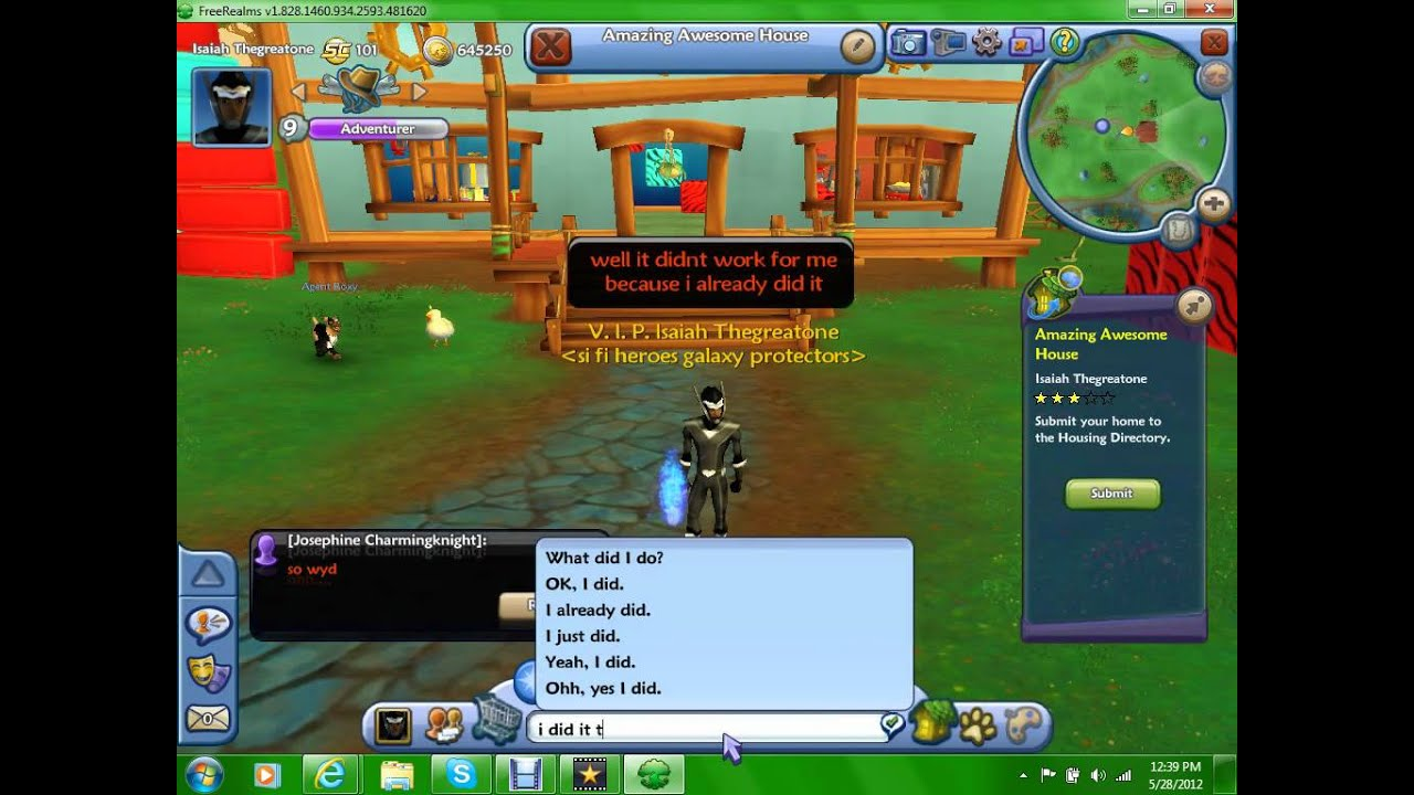 how to get a free ride on free realms code
