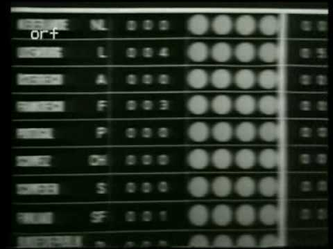 Eurovision 1967 - Voting Part 1/3