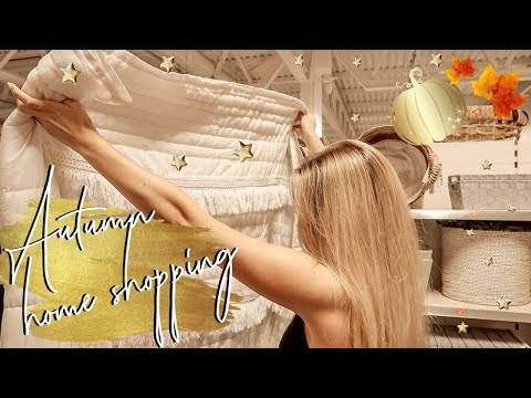 AUTUMN HOMEWARE SHOPPING VLOG | TK MAXX B&M POUNDLAND