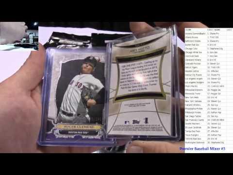 Premier Baseball Mixer Live Box Break #3 7-28-15