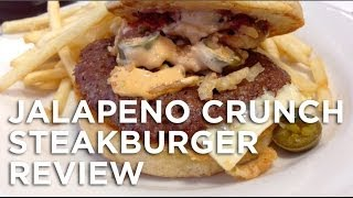 Steak N Shake Jalapeno Crunch Steakburger Review: Freezerburns