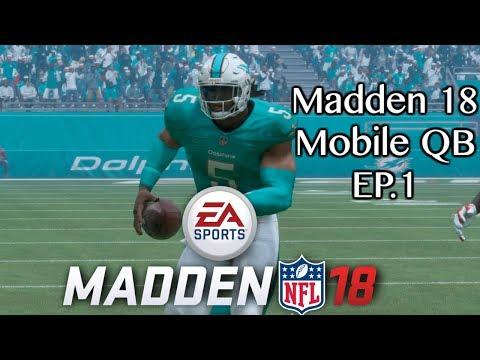 Madden 18 Franchise mode Mobile QB : Madden