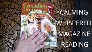 ASMR HAPPY THANKSGIVING MAGAZI…