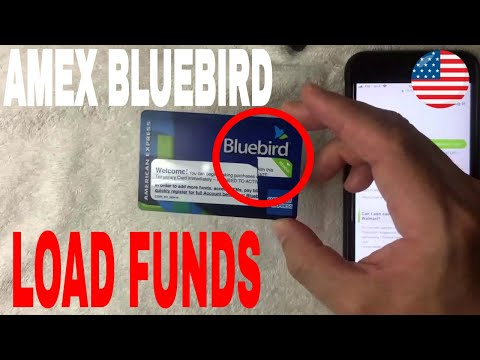 ✅  How To Load Cash On Bluebird Prepaid American Express 🔴