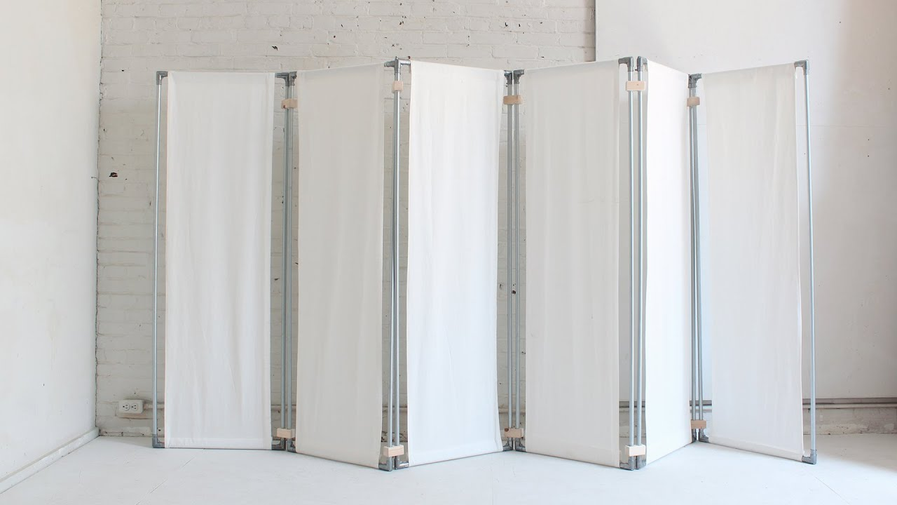 Diy room divider youtube - Temporary room dividers diy ...