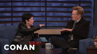 Kathy Bates Recommends A Pot Strain For Conan - CONAN on TBS