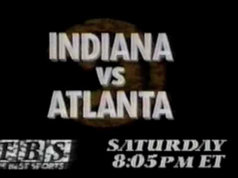 TBS Hawks/Pacers promo - 1991