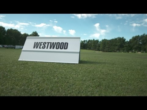 Lee Westwood's pre-round warm-up routine