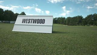 Lee Westwood's pre-round warm-up routine