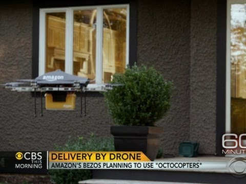 Amazon CEO Unveils Drone Delivery Concept