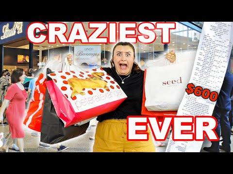 $600 BOXING DAY DFO SHOP WITH ME & HAUL... CRAZIEST & MOST EXPENSIVE SHOP WITH ME EVER! AD