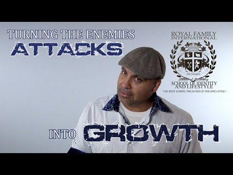 turning the enemies attacks into growth