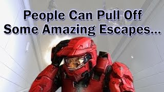 Halo Reach - People Can Pull Off Some Amazing Escapes...