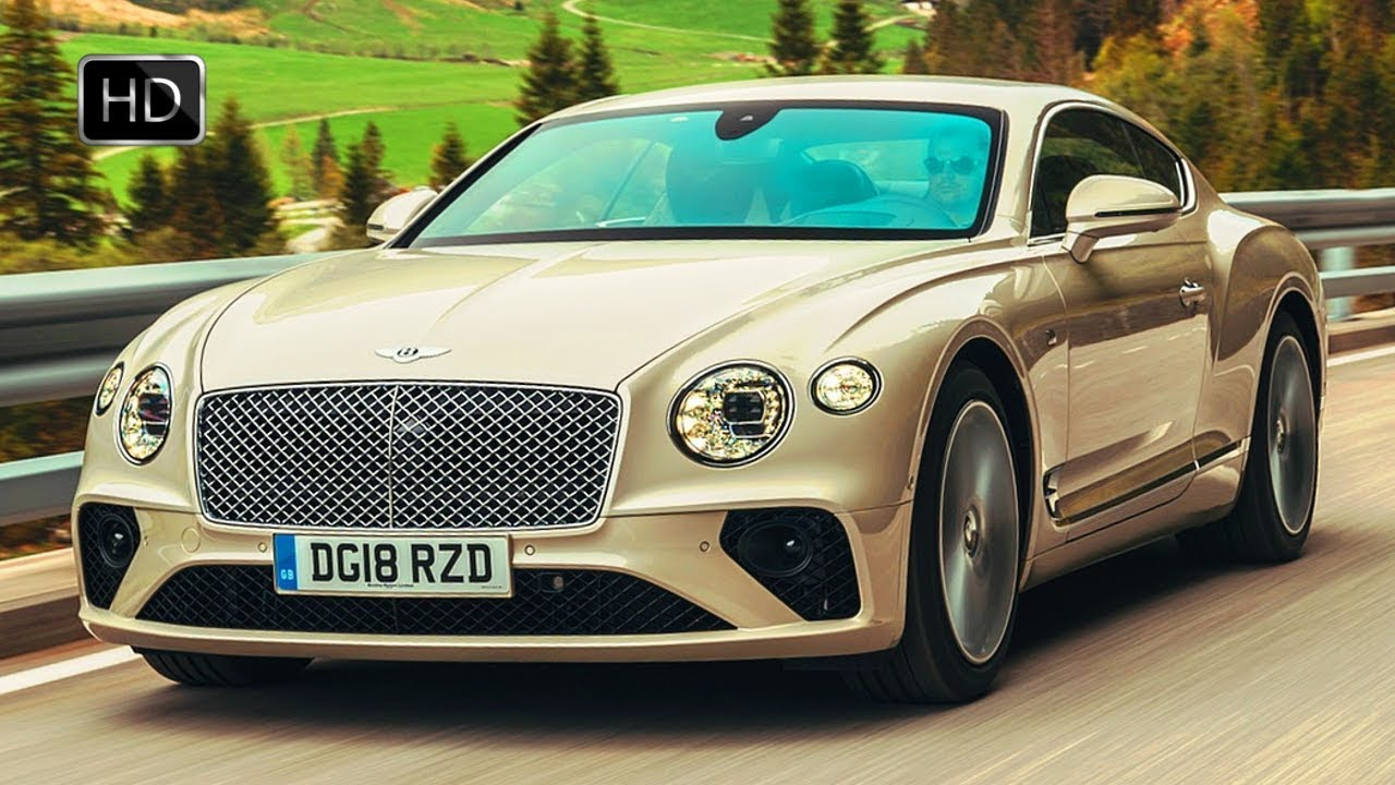 2018 Bentley Continental Gt V8 Luxury Coupe In White Sand Hd
