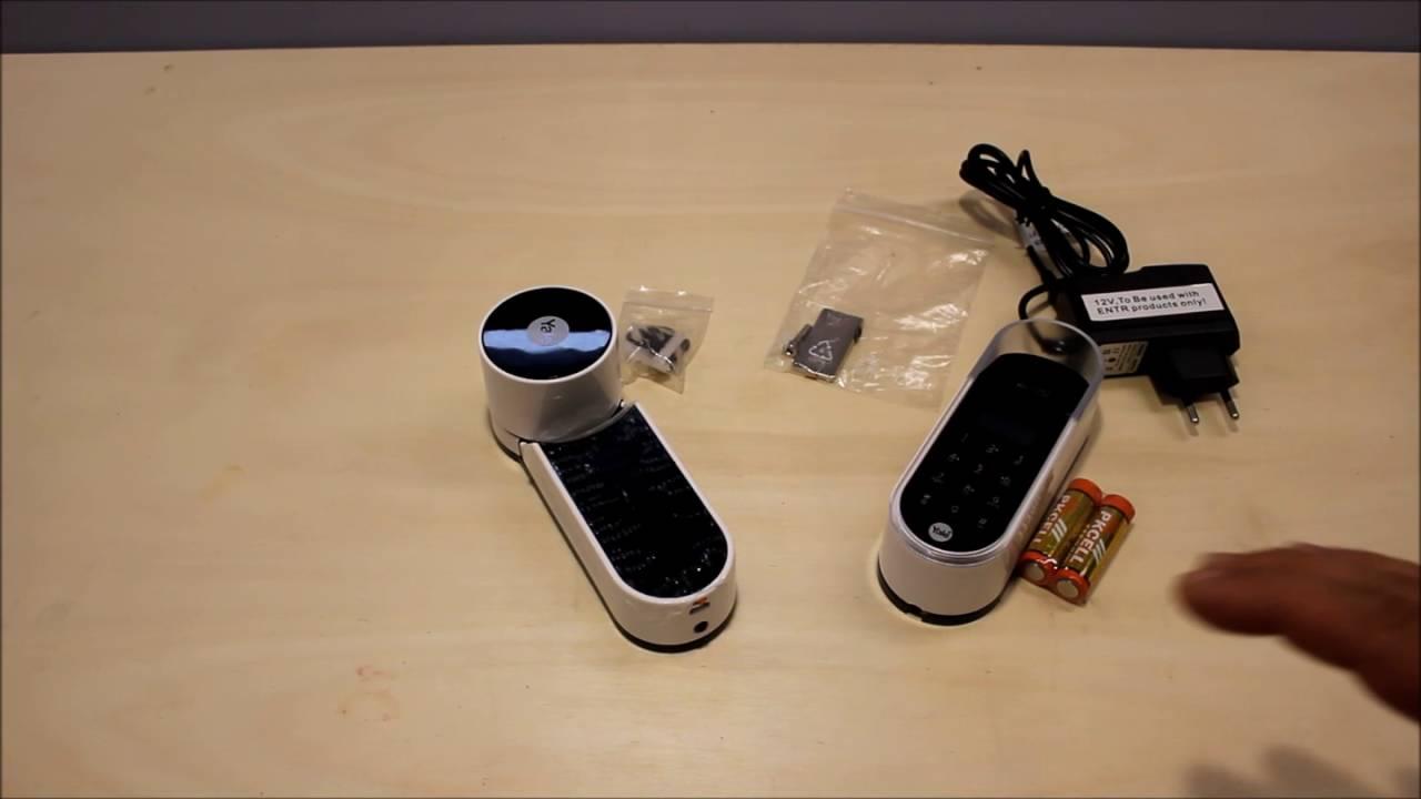 yale entr das motorschloss mit fingerprint test deutsch. Black Bedroom Furniture Sets. Home Design Ideas