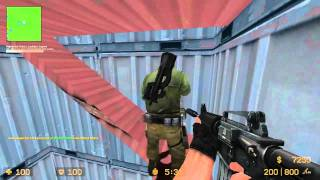 Sp00n plays Zombie mod CS:S /Counter Strike Source part 1