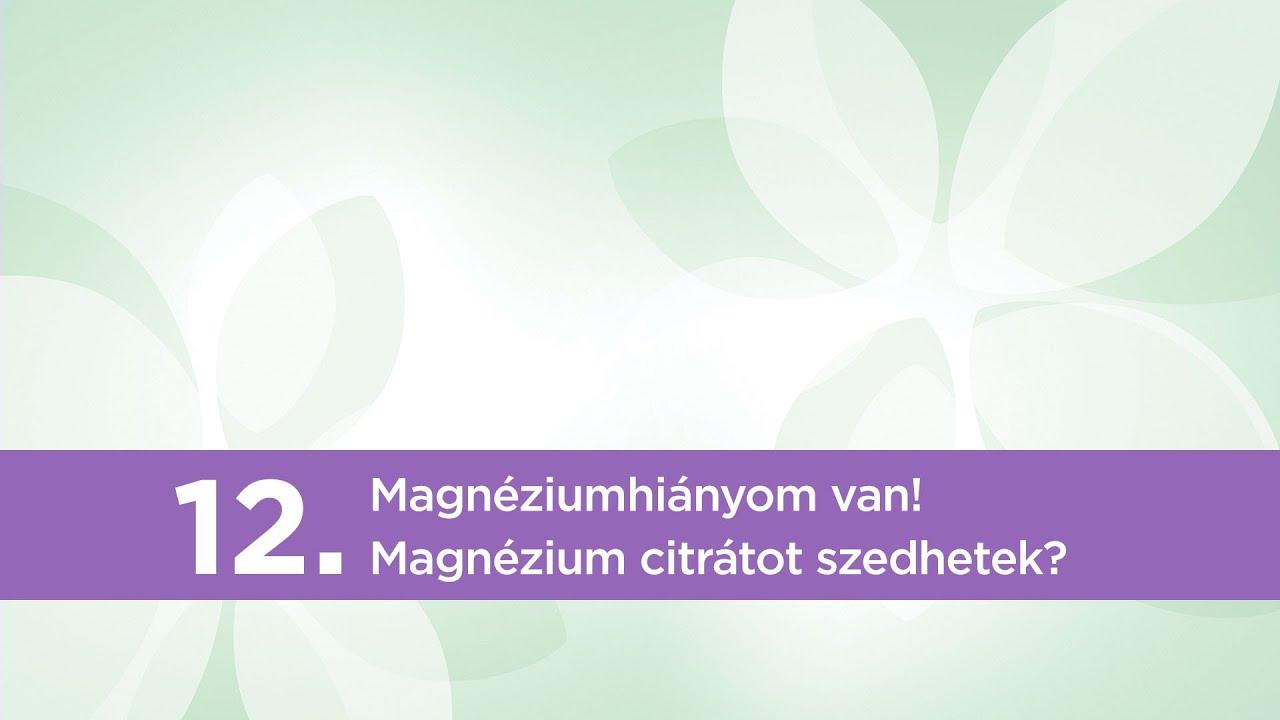 magnézium prosztatagyulladás