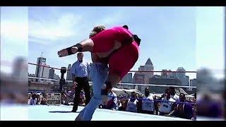 Lex Luger slams Yokozuna: July 4, 1993