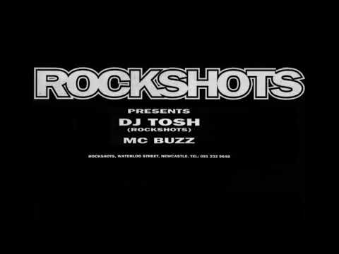 Rockshots @ Newcastle, early 92 - DJ Tosh & MC Buzz
