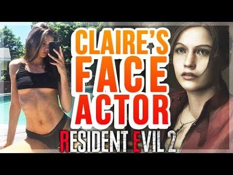 Resident Evil 2 Remake - Claire Redfield Model Found - No Voice Actor Yet