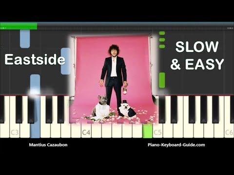 Benny Blanco, Halsey & Khalid Eastside Slow Easy Piano Tutorial