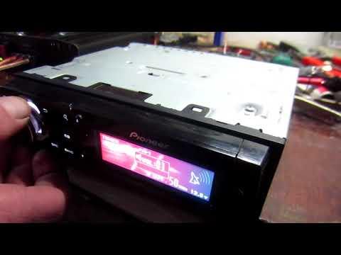 Ремонт магнитол DEH-80PRS и DEH-X9650SD или Чем отличается процессорный мафон от обычного