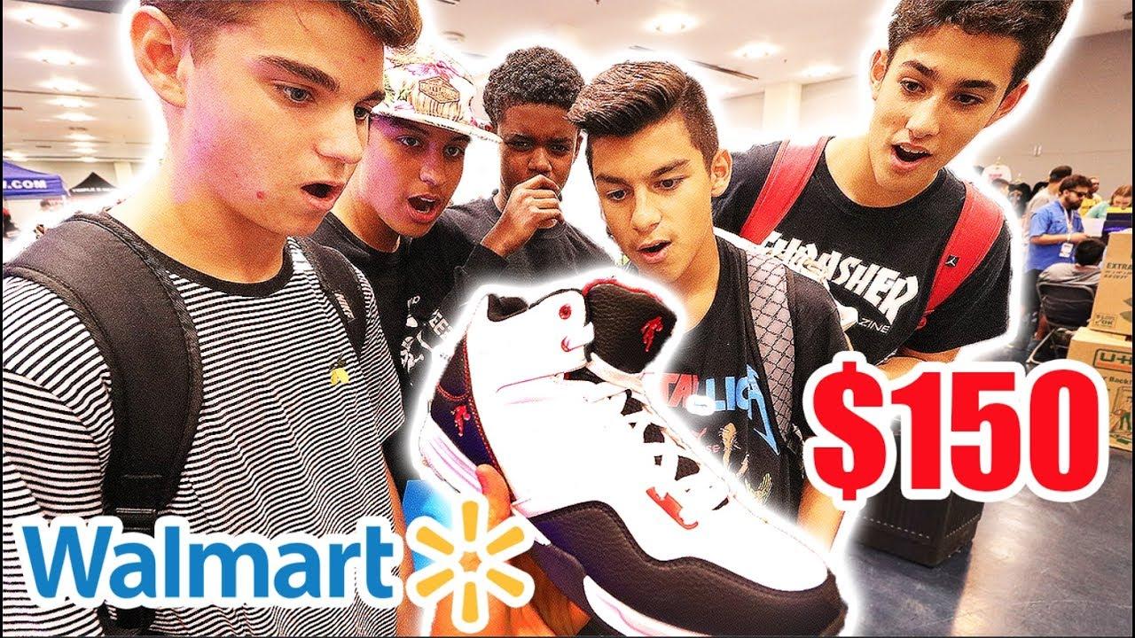SELLING KIDS FAKE JORDANS FOR  150 (Walmart Shoes) - YouTube 5d3eb5968