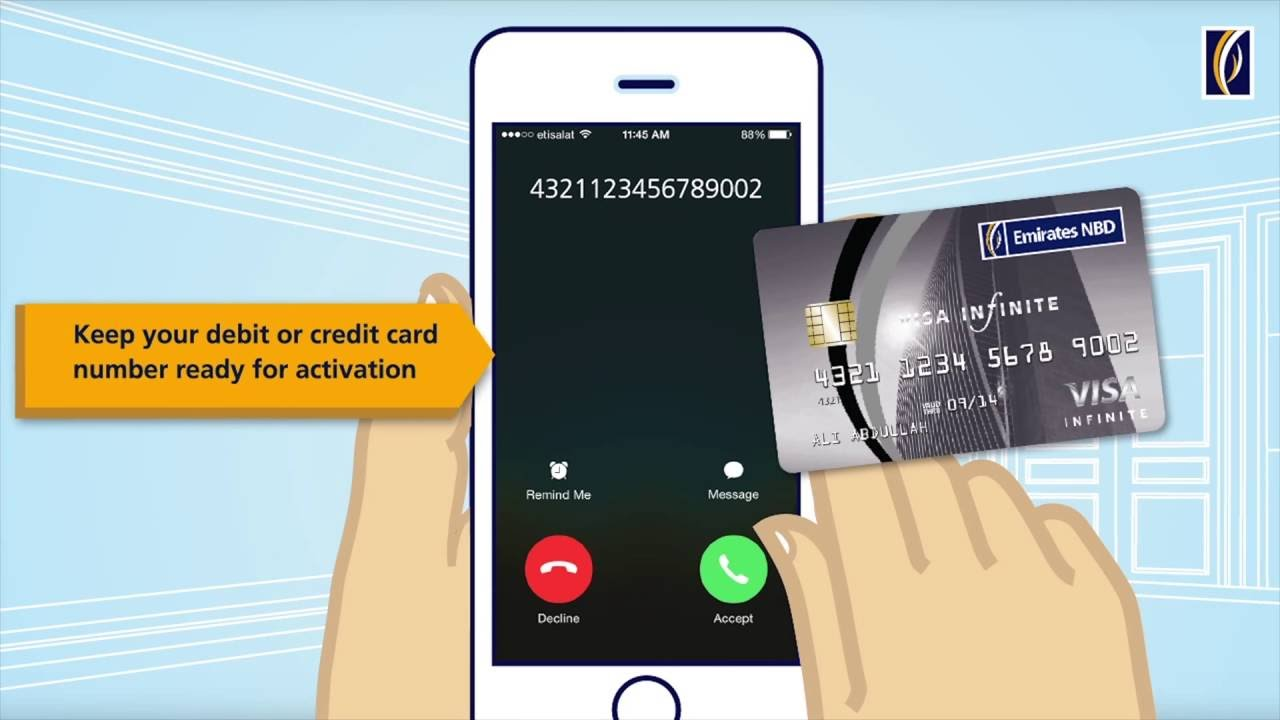Emirates NBD Personal Banking | Cards | Credit Cards | Activating