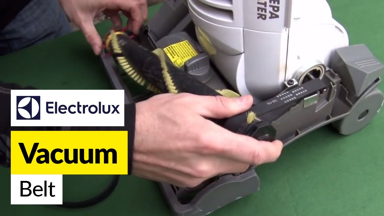 How To Replace A Vacuum Belt On An Electrolux Vacuum