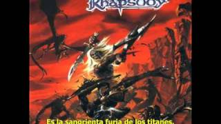 Watch Rhapsody The Bloody Rage Of The Titans video