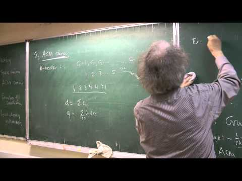 Robin Hartshorne, Algebraic Space Curves: old results and open problems